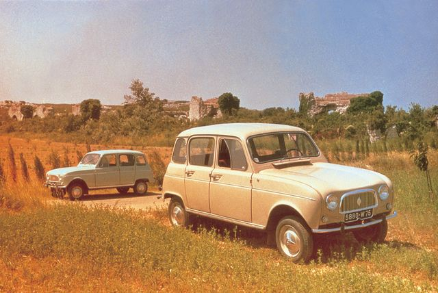 Tradition: 60 Jahre Renault 4 - Automobiler Aktivist und Anti-Statussymbol