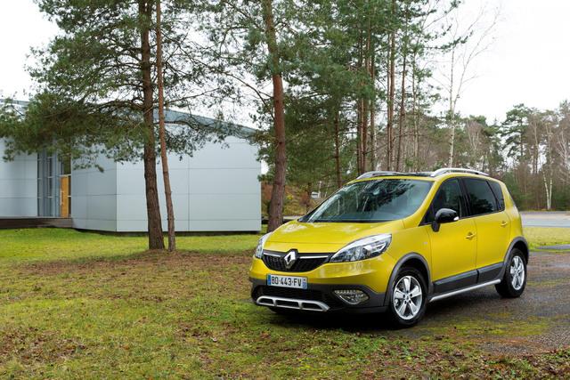 Renault Scenic Xmod - Auch ohne Allrad durch den Matsch