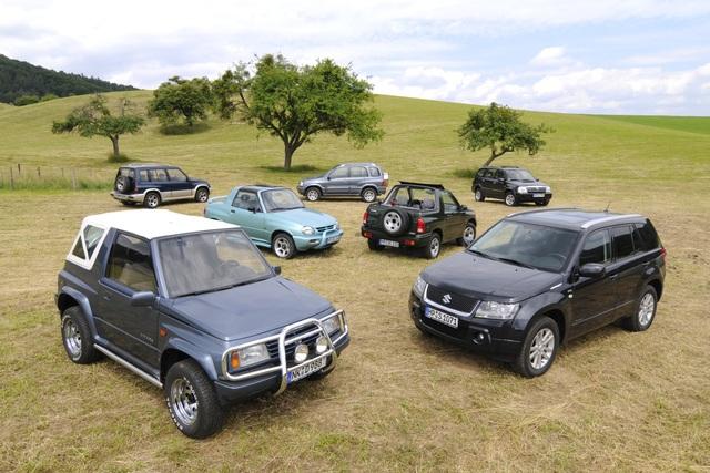 Tradition 50 Jahre Suzuki Offroader - Hoppla, jetzt komm ich!