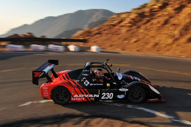 Pikes Peak-Rennen - Toyota gewinnt elektrisch
