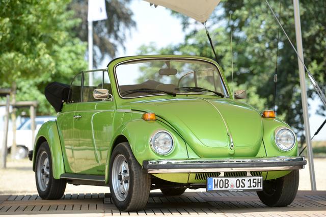 Tradition: Vor 40 Jahren - letztes VW Käfer Cabrio - Vom Winde verwehtes Garagengold