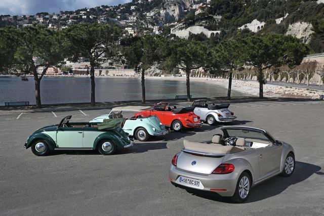 Tradition: 70 Jahre Volkswagen Cabriolets - Sonne und Dolce Vita für alle