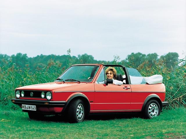 40 Jahre Volkswagen Golf Cabriolet - Die Neuvermessung der Verdeck-Welt