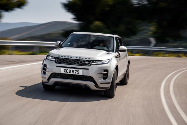 Euro-NCAP-Crashtest - Fünf Sterne für Range Rover Evoque