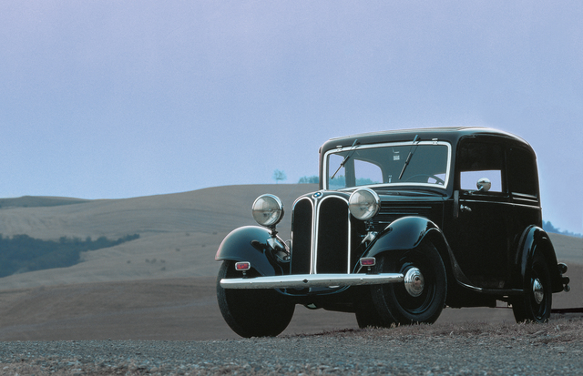 90 Jahre BMW Automobilbau - In der Nische geboren