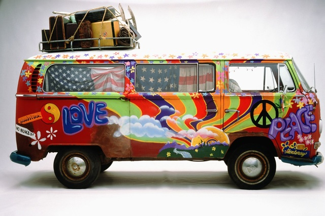 Tradition: Die Internationale Automobilausstellung vor 50 Jahren - Flower Power für eine farbenfrohe neue Welt