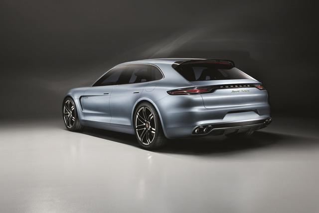 Porsche Panamera Sport Turismo - Porsche probt den Kombi