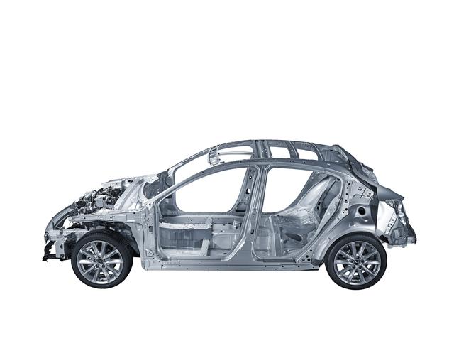 Fahrzeugarchitektur im neuen Mazda3 - Mit neuen Ideen zu mehr Komfort