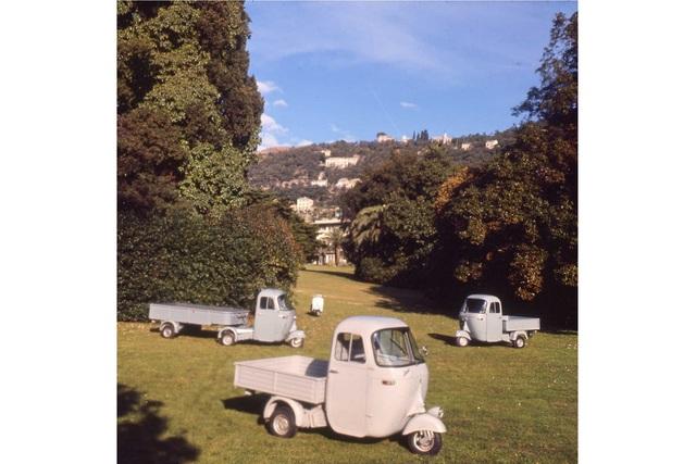 Tradition: 70 Jahre Piaggio Ape Dreirad-Transporter -  Vespas fleißige Schwester