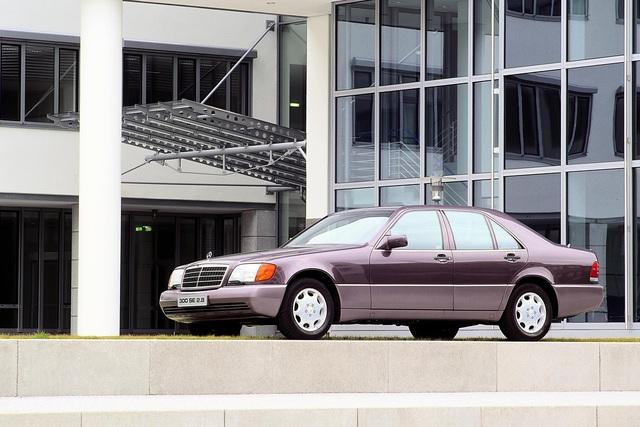 Tradition 25 Jahre Mercedes-Benz S-Klasse (W 140) - Helmut Kohls Dickschiff