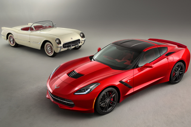 Chevrolet Corvette Stingray Cabriolet - Luftige Legende
