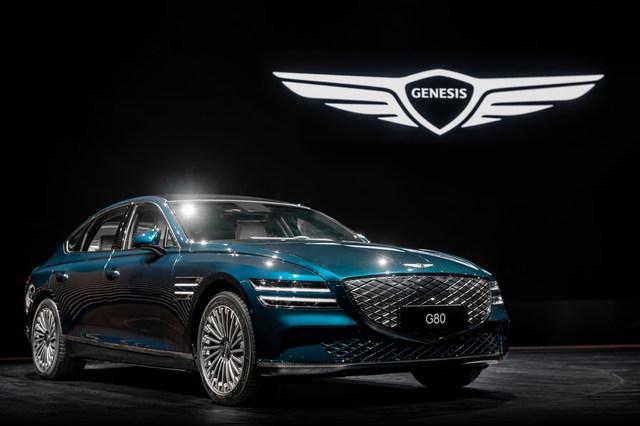 Genesis G80 Elektro - Der nächste 800-Volt-Stromer