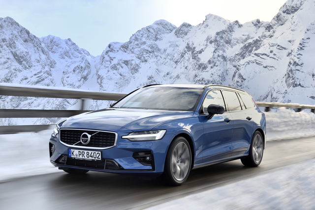 Fahrbericht: Volvo V60 R-Design - Auch der sportlichere Anzug passt