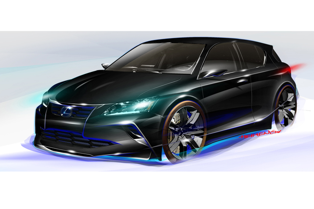Lexus Five Axis Project CT - Finsterer Hybrid