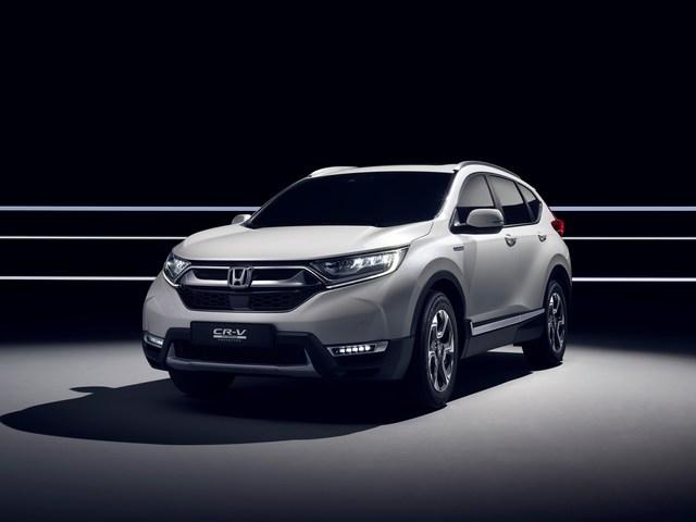 Honda CR-V - Hybrid kommt Anfang 2019
