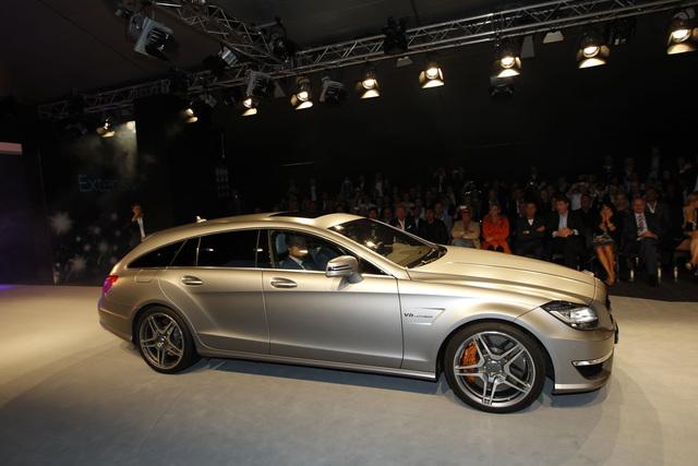 Mercedes Cls 63 Amg Shooting Brake Dezent Schneller Autoplenumde