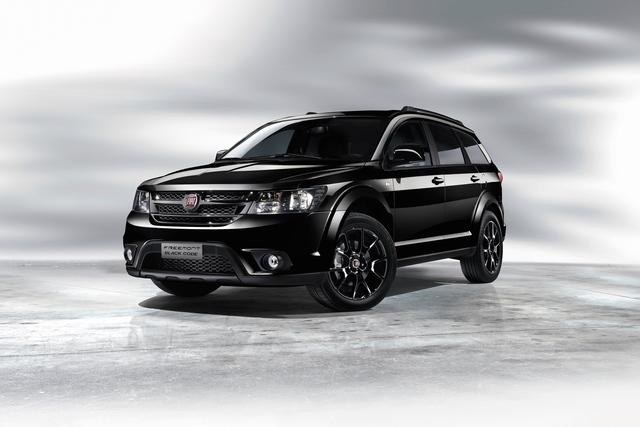 Fiat Freemont Black Code - Der Van für Schwarzmaler