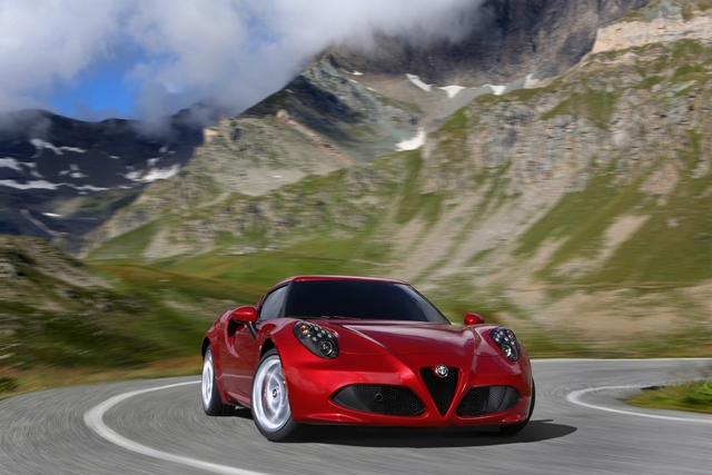 Alfa Romeo 4C Coupé und Spider - Da ist mehr Musik drin