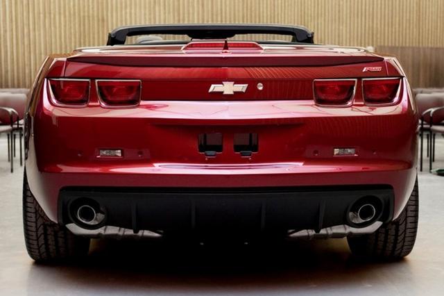 Chevrolet Camaro Convertible debütiert auf Facebook
