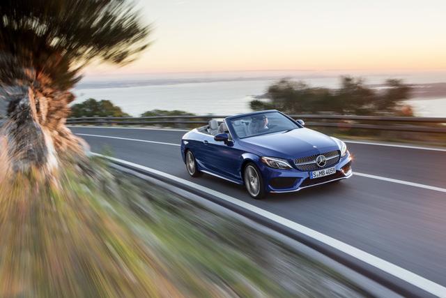 Test: Mercedes C-Klasse Cabrio 250 d - Auch für spontane Sommer geeignet