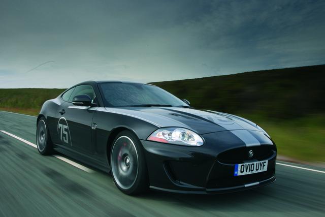 Schneller Jaguar XKR 75 feiert Deutschlandpremiere