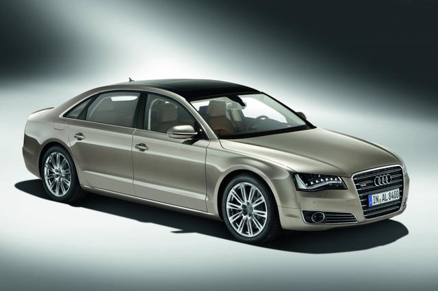 Audi A8L - Ganz oben: Mehr Radstand, mehr Leistung