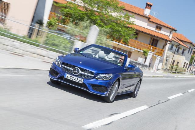 Fahrbericht: Mercedes-Benz C-Klasse Cabriolet - Lücke mit Offenheit geschlossen