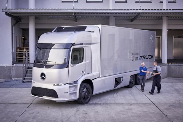Mercedes Urban eTruck - Elektro-Lkw geht in Kleinserie