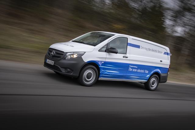 Mercedes eVito - Neuauflage des E-Transporters