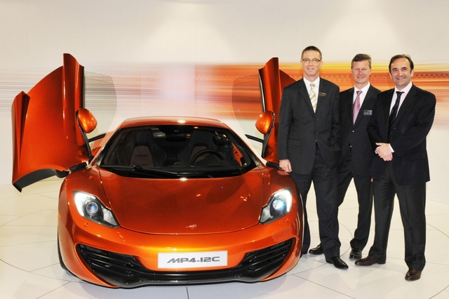 McLaren MP4-12C: Der ungleiche Zwilling