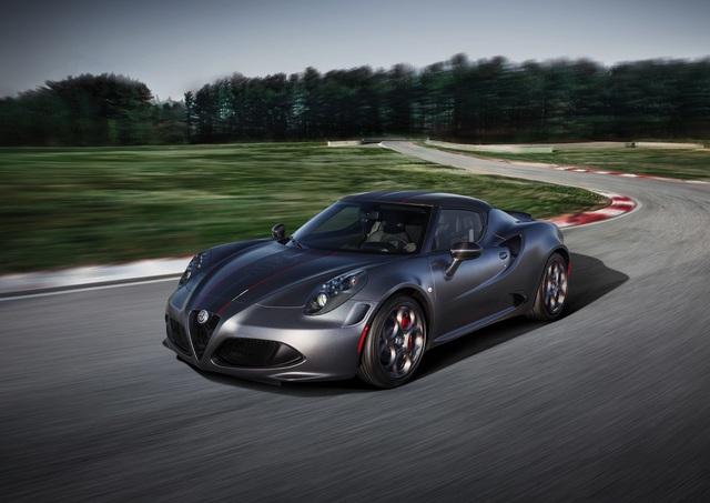 Sondermodelle von Alfa Romeo  - Streng Limitierte 4C-Derivate