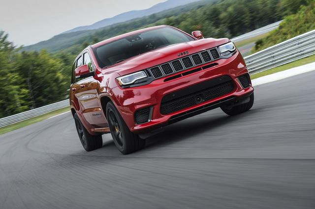 Fahrbericht: Jeep Grand Cherokee Trackhawk - Wider alle Vernunft