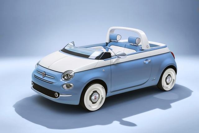 "Fiat 500 ""Spiaggina by Garage Italia"" - Strandauto in Kleinserie"