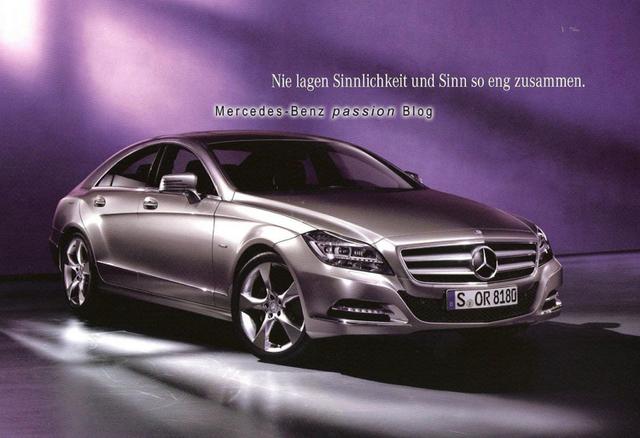 In neuer Frische: Der Mercedes-Benz CLS