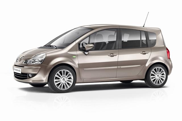 """Für die gehobene Kundschaft: Sondermodell Renault Grand Modus """"GEO""""."""