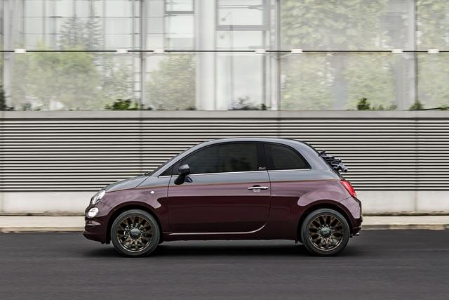 """Fiat 500 """"Collezione""""  - In herbstlichen Farben"""