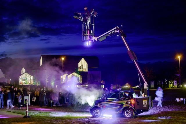 Mobile Disco mit Kleinstwagen - Smart Forpartypeople