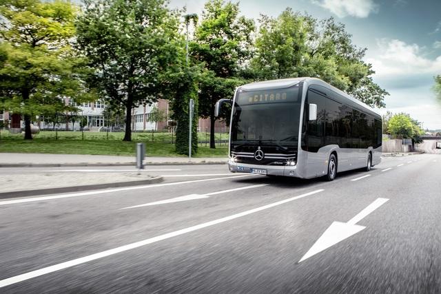 Mercedes eCitaro - Stromern durch die Stadt