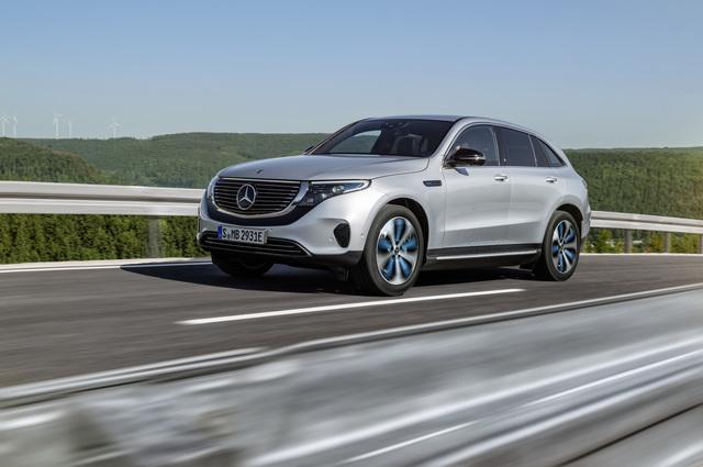 Weltpremiere Elektro-SUV Mercedes EQC - Spannung in Serie