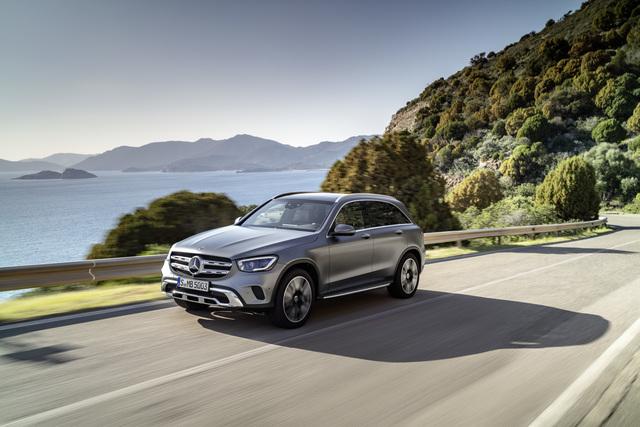 Mercedes GLC Facelift - Viel Technik und ein wenig Kosmetik