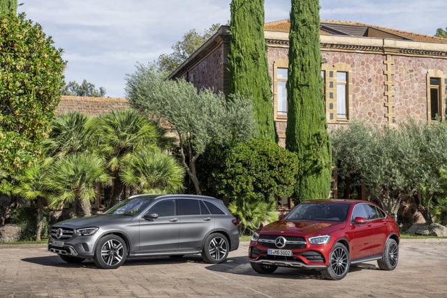 Mercedes GLC - Mehr Extras für Vielfahrer
