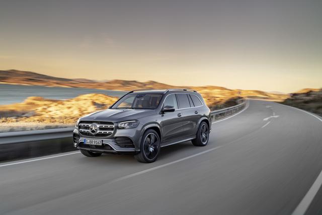 New York Autoshow: Mercedes GLS - Großer Luxus