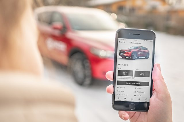 Mazda stoppt Carsharing - Kein Geschäft mit geteilten Autos