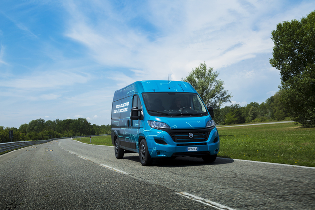 Fiat Ducato Electric - Im nächsten Jahr bis zu 360 Kilometer