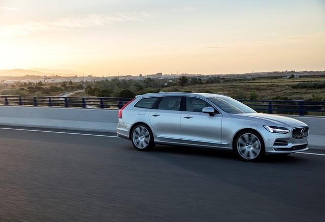 Volvo S90/V90 - Plug-in-Hybrid für die großen Schweden