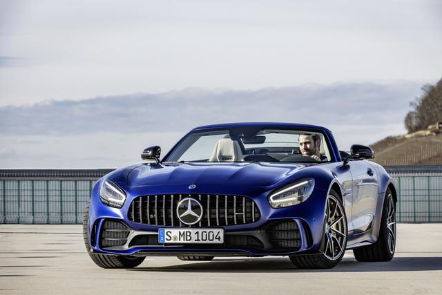 Mercedes-AMG GT R Roadster - Offen mit Roaaaaaar
