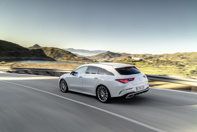 Fahrbericht:  Mercedes CLA Shooting Brake  - Nenn mich nicht Kombi