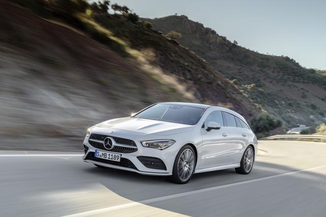 Mercedes CLA Shooting Brake - Neuer Coupé-Kombi an der Spitze der Kompakt-Familie