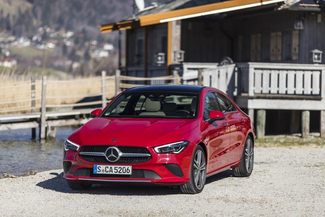 Fahrbericht: Mercedes CLA Coupé - Gestreckter Schönling