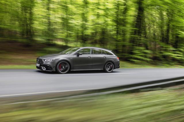 Mercedes CLA 45 4Matic Plus Shooting Brake - Top-Vierzylinder für das Kombi-Coupé